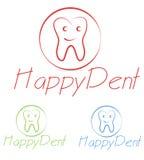 Dentist logo Royalty Free Stock Photography