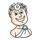 Dentist logo Royalty Free Stock Image
