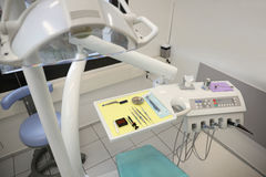 Dentist office detail Royalty Free Stock Image