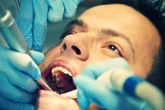 Dentist office Royalty Free Stock Photo