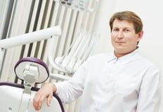 Dentist orthodontist portrait Stock Photography