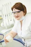 Dentist orthodontist portrait Stock Photo