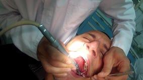 At dentist POV Royalty Free Stock Photos