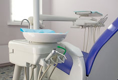 Dentist's chair Stock Photos