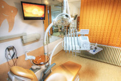 Dentist's chair Royalty Free Stock Photos