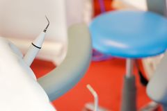 In the dentist's office royalty free stock photo