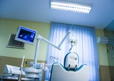 Dentist's surgary Royalty Free Stock Photos