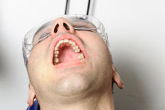 Dentist surgery ready patient hospital Royalty Free Stock Images