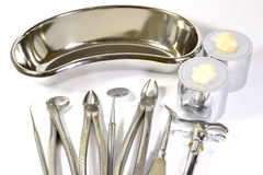 Dentist tools Royalty Free Stock Photo