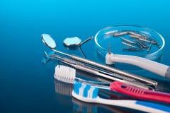Dentist tools Royalty Free Stock Photos