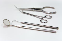 Dentist tools Royalty Free Stock Image