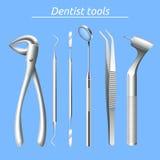 Dentist Tools Set Stock Photography