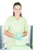Dentist woman smiling Stock Photos