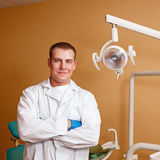 Dentist at work Royalty Free Stock Image