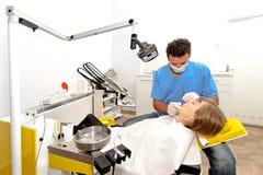 Dentist workplace Stock Photo