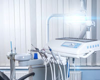 Dentist workplace Royalty Free Stock Image