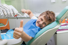 At the Dentist Royalty Free Stock Photos