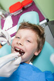 At the Dentist Royalty Free Stock Image