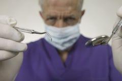 Dentista Fotografia de Stock Royalty Free