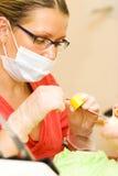 Dentista Fotos de archivo libres de regalías