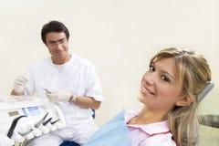 Dentista Fotografia Stock Libera da Diritti