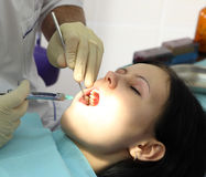 dentista Immagine Stock