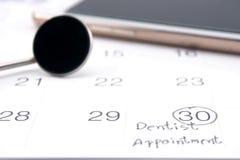 Dentista Appointment Immagini Stock Libere da Diritti