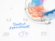 Dentista Appointment Fotografie Stock