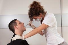 Dentista atractivo Imagen de archivo