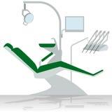 Dentista Chair Fotografia Stock Libera da Diritti