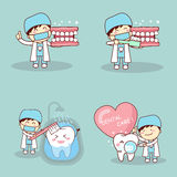 Dentista con tooh Immagine Stock Libera da Diritti