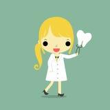 Dentista da mulher Imagens de Stock Royalty Free