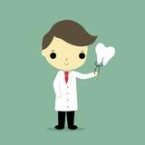Dentista do homem ilustração do vetor