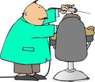 Dentista e paziente illustrazione vettoriale
