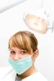 Dentista joven foto de archivo