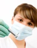 Dentista joven fotos de archivo libres de regalías