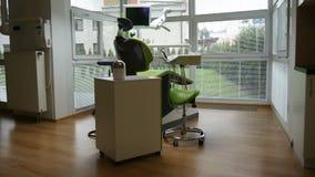 Dentista moderno almacen de metraje de vídeo