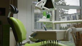 Dentista moderno video estoque