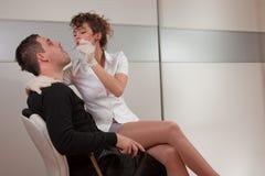 Dentista sexy Fotografia Stock