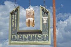Dentista Sign Fotografia Stock Libera da Diritti