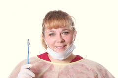 Dentista sonriente Imagen de archivo