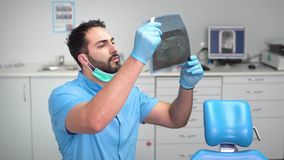 Dentista Studies i raggi x archivi video