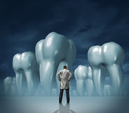 Dentista y cuidado dental stock de ilustración