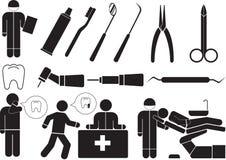 dentiste illustration libre de droits