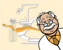 Dentiste amical Images stock