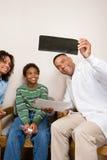 Dentiste avec le patient photo libre de droits