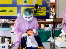 Dentiste dentaire image stock