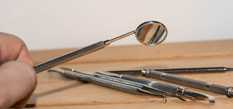 Dentiste Tools Images stock