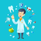 Dentistry Concept Illustration Stock Images