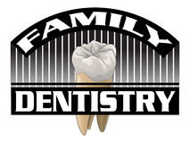 Dentistry-Family Royalty Free Stock Images